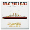Great White Fleet Centennial Boxes Mugs and Coasters