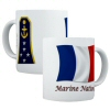 French Navy Rank Mugs