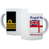 Royal Navy Rank Mugs